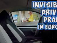 Niewidzialny kierowca w Toyocie