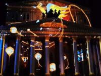Bolshoi Theatre Moscow 3D Mapping Laser Light Show FIFA