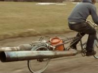 Rower z solidnym dopalaczem