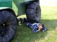 Traktor- technik masażysta