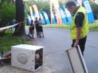 Festiwalowa pralka - Washing Machine at the concert (Michal Kujawa PL)