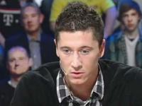 Robert Lewandowski w niemieckiej TV