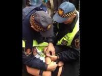 Straż Miejska katuje ucznia technikum za to że ten palił papierosa