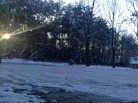 Jak driftować zimą na parkingu byle czym?