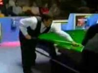 Ronnie O'Sullivan wbija bile jedną ręką