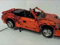 Porsche 911 Turbo Cabriolet z LEGO