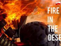 Epic fail - pożar na pustyni