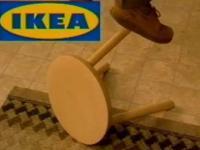 Dziwna reklama Ikei