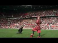 Samuraj na stadionie Manchester United