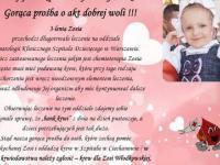 Pomoc dla małej Zosi