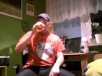 Beka z wyzwania piwnego MAMA PRZESZKODZIŁA MU