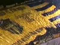 Największy kibicowski transparent świata