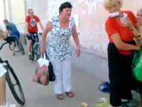 Staruszka napadnięta przez zazdrosną kobietę o papierosy...