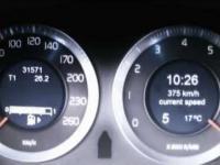 Przyspieszenie od zera do 383km/h