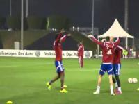 Robert Lewandowski bryluje na treningu Bayernu!