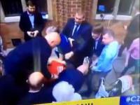 BOR brutalnie zatrzymuje chłopaka krzyczącego Pro Civili Toruń