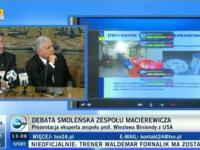 Putin dzwoni na skype podczas prezentacji  Macierewicza