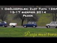 Zlot Fiata 126p - Pasja musi trwać.