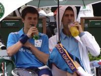 Piekine zachowanie Novaka Djokovica podczas turnieju Rolanda Garorosa