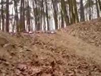 Kaskader na rowerze