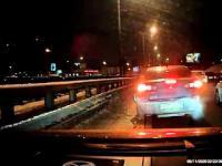 Nerwowy kierowca w Rosji