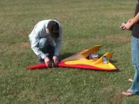 Model samolotu osiągający 586 KM/H
