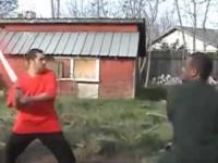 Walka gangów - parodia