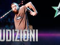 Cisky tancerz w włoskim mam talent
