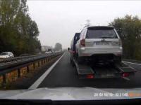 Ryzykowne i niebezpieczne zajechanie drogi przez