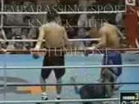 Najbardziej wstydliwe nokauty w sportach walki