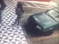 Kierowca dowcipniś. Gdzie z tą dupą?