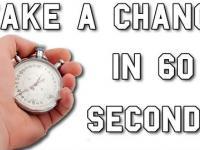 60 Sekund które zmieni twój światopogląd.