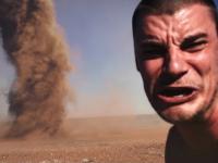 Szaleniec podbiegł do tornada by zrobić selfie