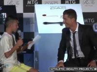 Cristiano Ronaldo uratował japońskie dziecko przed upokorzeniem