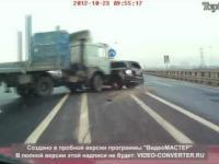 Kompilacja wypadków z samochodów ciężarowych