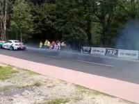 Double headshot na zawodach driftu