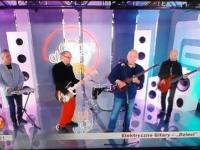 Elektryczne gitary w dzień dobry TVN