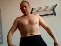 68-letni Gargamel jako