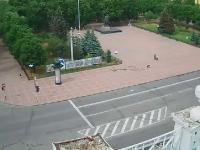 Ukraina: Atak rakietowy w centrum miasta Ługańsk