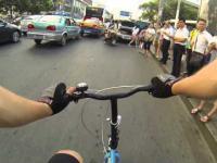 Chiny z bliska #14 - Jazda rowerem po chińskim mieście