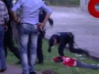 Policja pobiła pałami ojca i dziadka w obecności syna!
