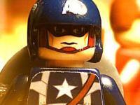 Kapitan Ameryka z klocków Lego