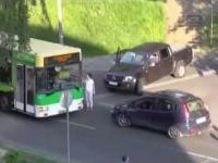 Konflikt na drodze