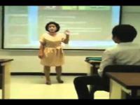 Nie rozmawiaj na wykładzie