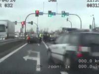 Międzywojewódzki pościg na A4 - Gliwice - Olkusz