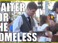 Kelner dla bezdomnych