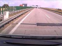 Zajechanie drogi autostrada A4