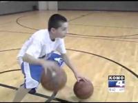 Utalentowany 12 letni koszykarz