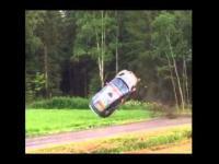 Rajd Finlandii 2015 - Wypadek Roberta Kubicy podzas Rajdu Finlandii