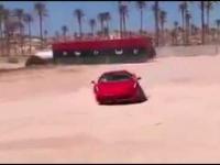 Chłopiec, który jeździ Ferrari